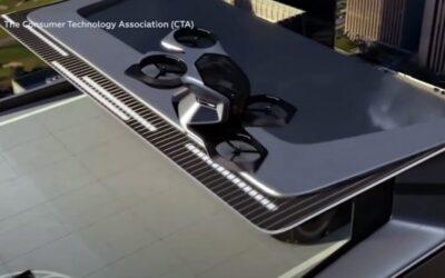 Vehículo de General Motors posibilita el transporte aéreo personal