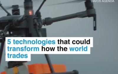 Tech Trade: 5 tecnologías soporte de la Cuarta Revolución Industrial