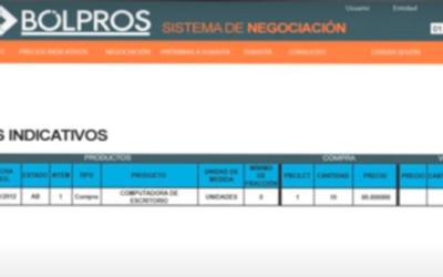 Oportunidades de negocio en BOLPROS la plataforma electrónica de subasta inversa en El Salvador