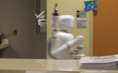 Moxi, el primer robot de asistencia sanitaria